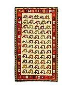 Kilim Carpets by Jalal Alfombra Gashgai (Beige/Rojo)