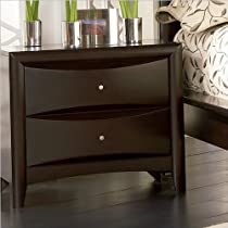 Big Sale Coaster Contemporary Style Nightstand, Cappuccino Finish