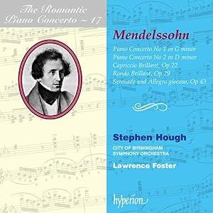 The Romantic Piano Concerto - Vol. 17 (Mendelssohn-Bartholdy)