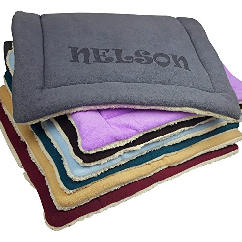 Personalized-Dog-Kennel-Mat-Large-or-Small-Pad-Cute-Washable-Bed-Cushion-Cats-or-Dogs