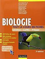 Biologie -Tout le cours en fiches - 2e éd. - 300 fiches de cours, 300 QCM et bonus web