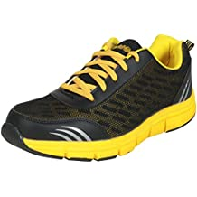 Action Shoes Action Sports Men Sports Shoes Bmb-702-Black-Yellow