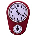 Red Timer Clock