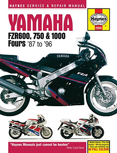 Yamaha FZR 600, 750, 1000 Service and Repair Manual (Haynes Service and Repair Manuals)