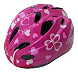 SAGISAKA(サギサカ) ヘルメット 自転車用キッズヘルメット スタンダードモデル Sサイズ 48~52cm ハートピンク 46401