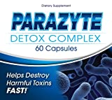 ParaZyte Parasite Cleanse - Parasite Detox - Natural Herbal Cleanse - Formulated With Wormwood, Black Walnut Hull, Pau D Arco, Cranberry, Garlic, Apple Pectin, Carrot Juice Powder, Papaya, Wood Betany, Butternut Bark, and Six More Important Nutrients