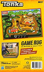 Tonka Game Rug Gravel Pit Includes 1 Mighty Dump Truck