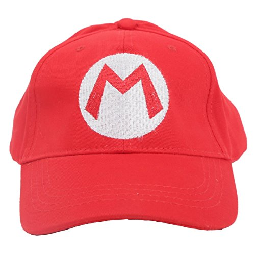 Super Mario Brothers Mario Red Baseball Cap