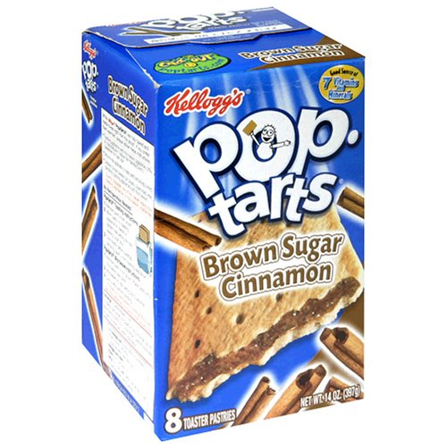Buy Kellogg's Pop-Tarts Brown Sugar Cinnamon,  8-Count Boxes (Pack of 12) (Pop-Tarts, Health & Personal Care, Products, Food & Snacks, Breakfast Foods, Toaster Pastries)