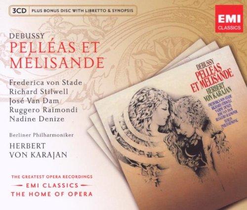 Pelleas Et Melisande (Karajan-Jose V.Dam) - Debussy - CD