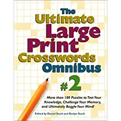 The Ultimate Large Print Crosswords Omnibus : 2: Spiral