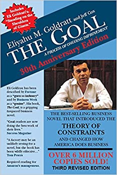 The goal a process of ongoing improvement eliyahu m goldratt jeff