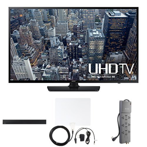 Samsung UN48JU6400 48-Inch 4K TV with Home Theater Bundle
