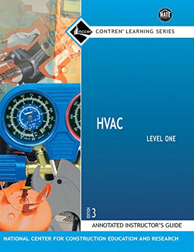 HVAC Anotated Instructor's Guide Level 1 (Nccer Hvac Level 1 compare prices)
