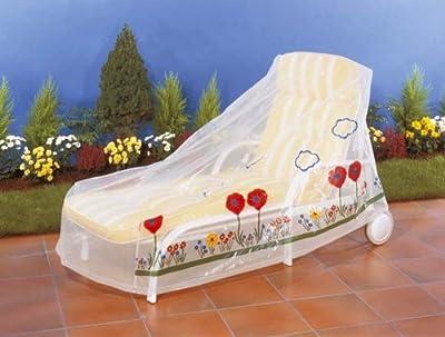 Wenko Schutzhülle für Rollenliege Wiese 155x82x85cm von Wenko auf Gartenmöbel von Du und Dein Garten