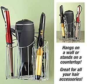 Hanging Hair Station Bathroom Accessories Organizer - - Amazon.com