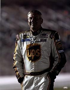 Signed Dale Jarrett Photo - 11x14 SM Holo - Autographed NASCAR Photos by Sports Memorabilia