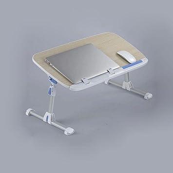 uzi-lazy persone benessere Fashion letto pieghevole tavolo, altezza regolabile da studio Laptop