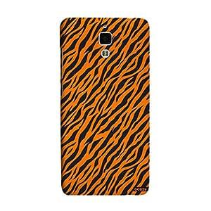 Gobzu Printed Back Covers for Xiaomi Mi4 - Zebra Orange