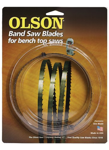 Olson Saw WB55362BL 62-Inch by 1/4 wide by 6 Teeth Per Inch Band Saw Blade
