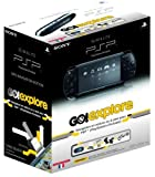 echange, troc Console Playstation portable slim & lite noire - pack go! explore (+ gps)