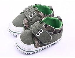 Baby Boys Shoes Camouflage First Walker Infant Spring Dress Toddler Soft Non-slip Bottom Gift for Newborn 0-18 Months (2)