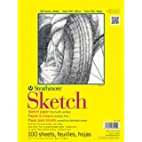 Strathmore ((350-114 STR-350-114 100 Sheet Sketch Plus, 14 by 17