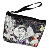 Disney Store Villains Cosmetic Bag Tote Evil Queen Ursula & Queen of Hearts