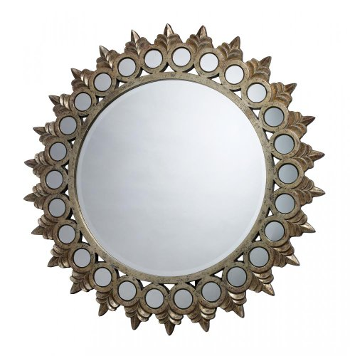 Sterling Home Porterdale Mirror, Sunset Silver
