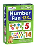 """Number Fun 123 "" is a fun counting game that introduces young children to the world of numbers from 1 to 20. It contains 20 two piece matching puzzles (40 large pieces) and an 'Activity Guide' with activities such as counting of objects, identifying..."