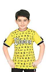 Triki Boys Printed T-Shirt