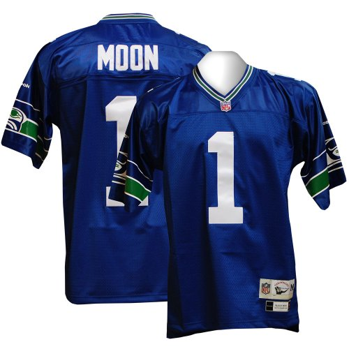 3efe4a8dd Seattle Seahawks Warren Moon Premier Throwback Reebok Jersey Review