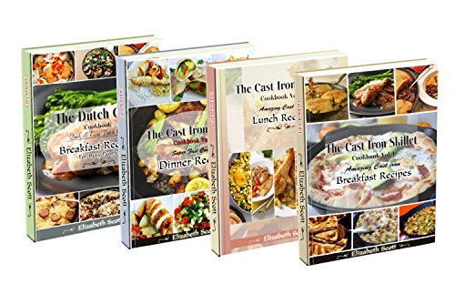 Amazing Simple&Healthy Special kitchen         Appliance box set: 190+ Cast Iron(Vols.1-3),Slow cooker, Dutch Oven,Breakfast,Lunch and Dinner recipes. by Elizabeth Scott