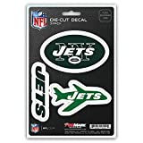 NFL New York Jets Team Decal, 3-Pack