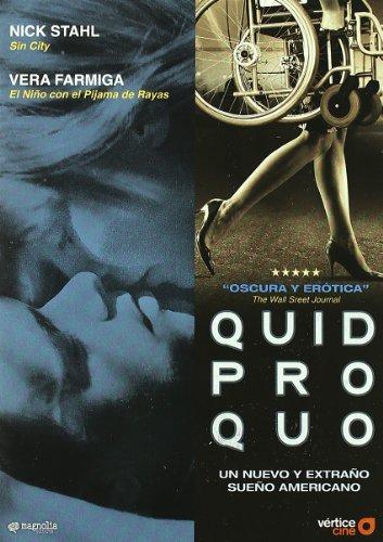Quid Pro Quo (Import Dvd) (2009) Nick Stahl; Vera Farmiga; Carlos Brooks