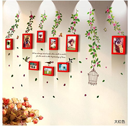 famous-wall-stickers-9-box-pastoral-irregular-solid-wood-box-ideas-7-inch-combination-frame-wall-liv