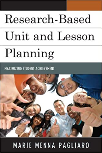 research based unit and lesson planning book cover