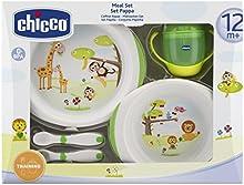 Comprar Chicco 6833000000 - Juego de vajilla y cubertería infantil, a partir de 12 meses