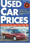 Used Car Prices: U.S. and Import Cars...
