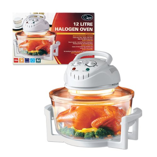 Quest White Halogen Oven, 12 L, 1300 Watt