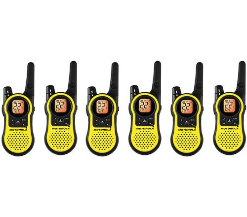 Motorola MH230R Two Way Radio / Walkie Talkie (6-Pack)