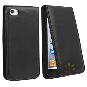 Everydaysource Black Leather Case compatible with Apple® iPod touch® 5th Generation