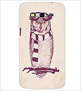 PrintDhaba Owl D-1246 Back Case Cover for SAMSUNG GALAXY GRAND 2 (Multi-Coloured)
