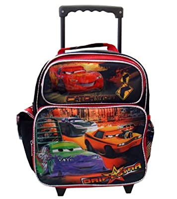 Disney Pixar CARS small wheeled backpack - kids backpack with luggage wheels from Ruz