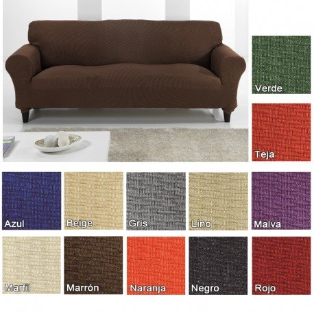funda-elastica-tunez-para-sofa-ektorp-de-ikea-color-marron-2-plazas