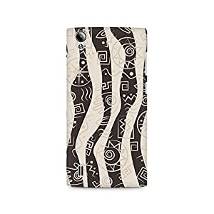Motivatebox- Abstract Tribal Wave Premium Printed Case For Vivo Y15 -Matte Polycarbonate 3D Hard case Mobile Cell Phone Protective BACK CASE COVER. Hard Shockproof Scratch-