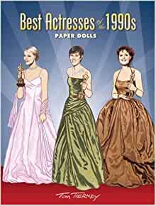 Best Actresses of the 1990s Paper Dolls (Dover Celebrity Paper Dolls