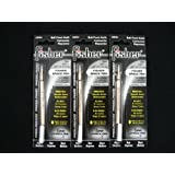 Refills for Bullet Fisher Space Pen 3 Pack Black SPR4