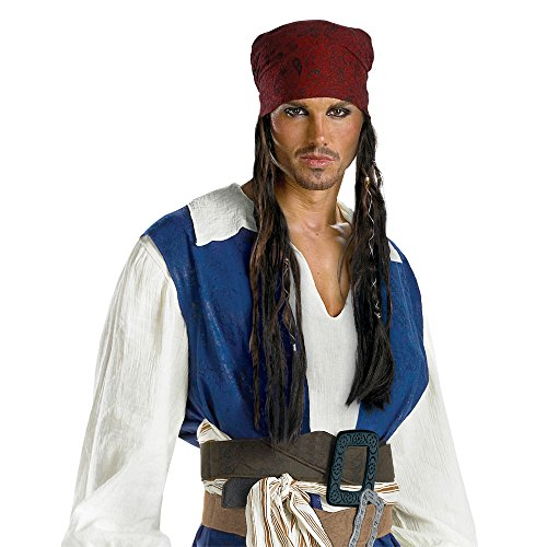 Disguise Men's Disney Pirates Of The Caribbean Jack Sparrow Adult Headband