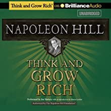 Think and Grow Rich (       UNABRIDGED) by Napoleon Hill Narrated by Joe Slattery